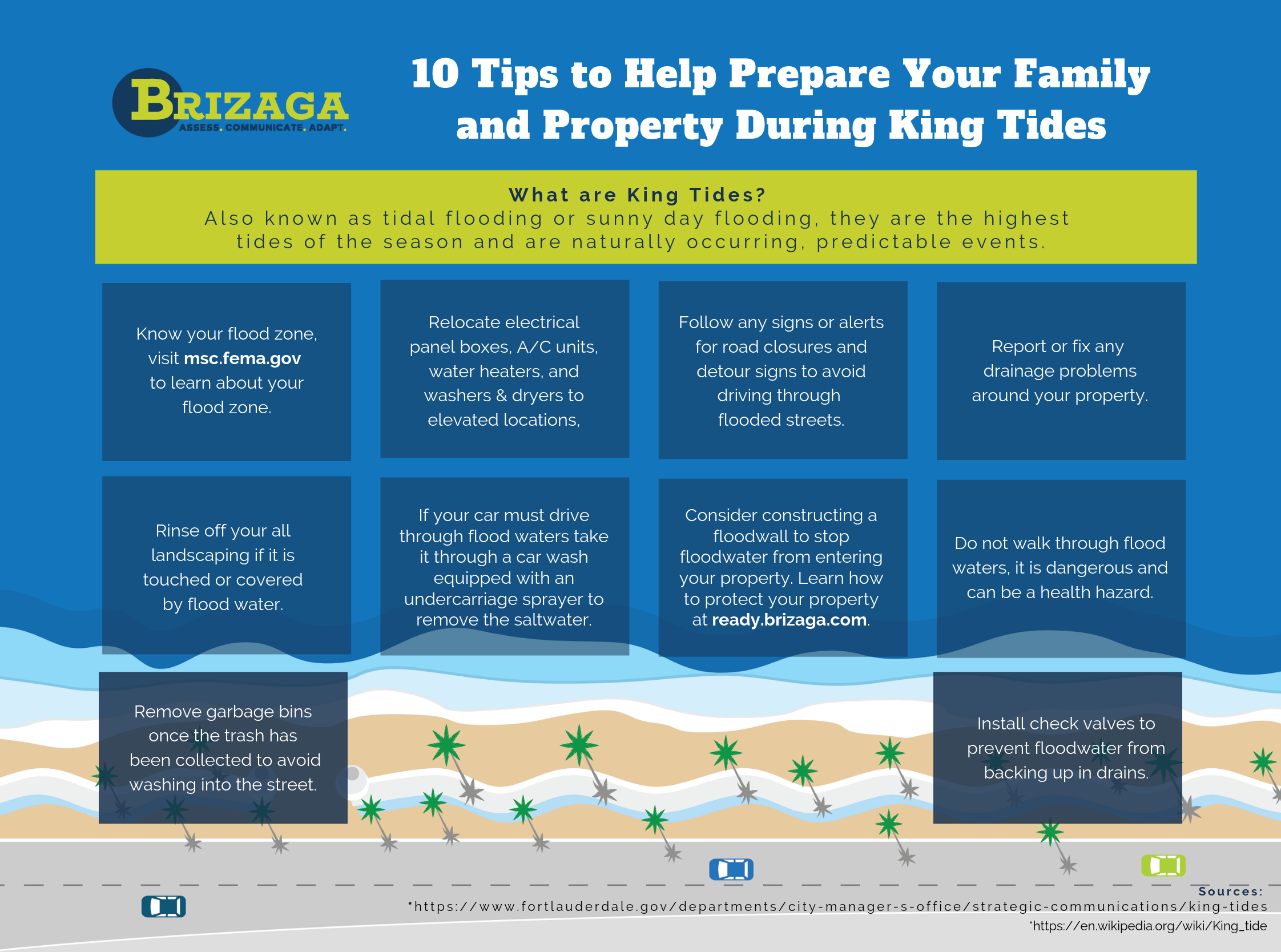 10 Tips to Help Prepare Your Family and Property During King