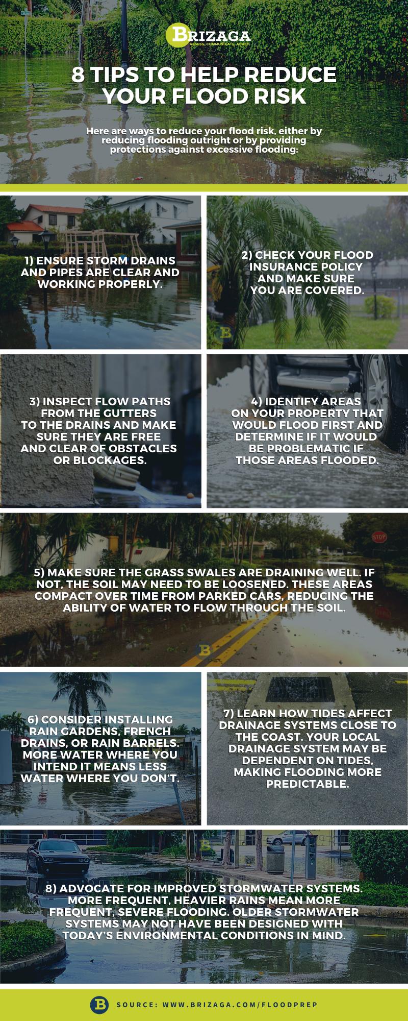 8 Tips to Help Reduce Your Flood Risk - Brizaga ( www.brizaga.com)